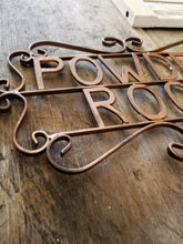 Powder Room Sign