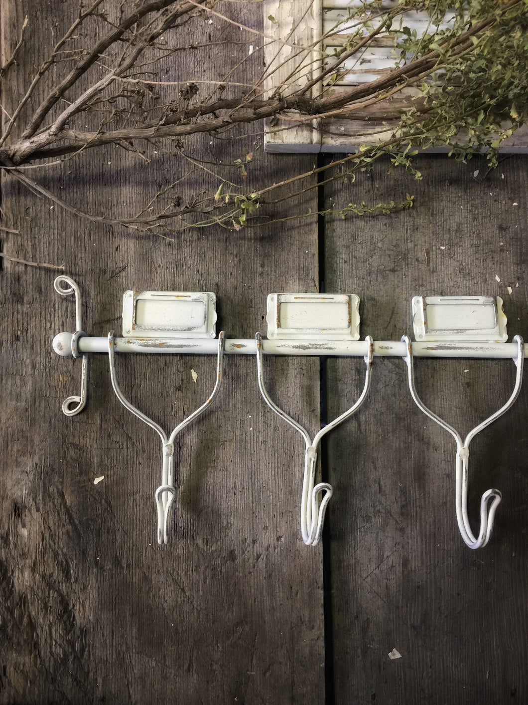Rustic Barnhouse Wall Hook - 3 Hook