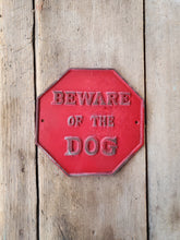Beware of Dogs Sign - Octagon