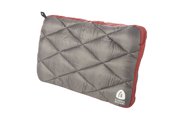 SIERRA DESIGNS Dridown Pillow Red - Frontier Equipment Pty Ltd