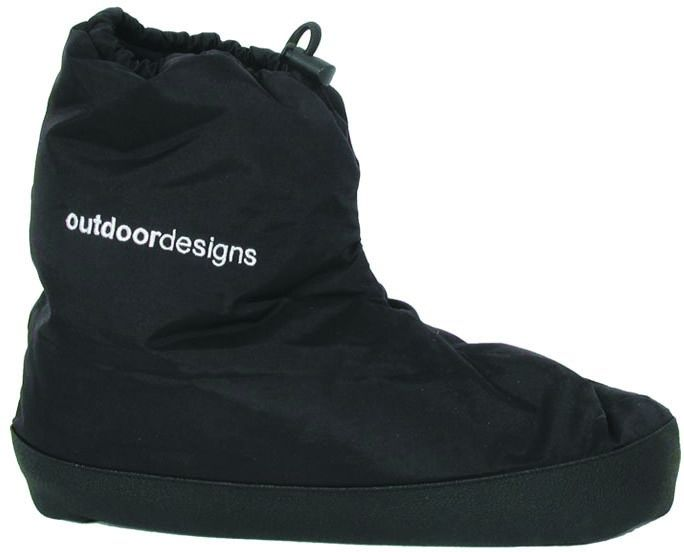 OUTDOOR DESIGNS Down Bootie Black - Frontier Equipment Pty Ltd