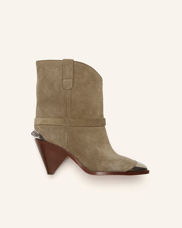 LIMZA Metal Tip Suede Boot