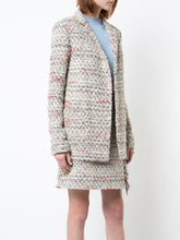 ADAM LIPPES - Tweed Long Line Blazer