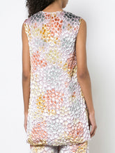 ADAM LIPPES - Painted Velvet Sleeveless Tunic