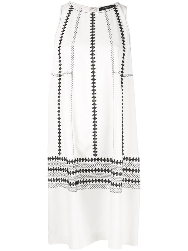 SL EMB COCOON DRESS