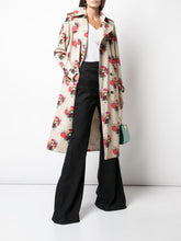 ADAM LIPPES - Printed Cotton Twill Trench