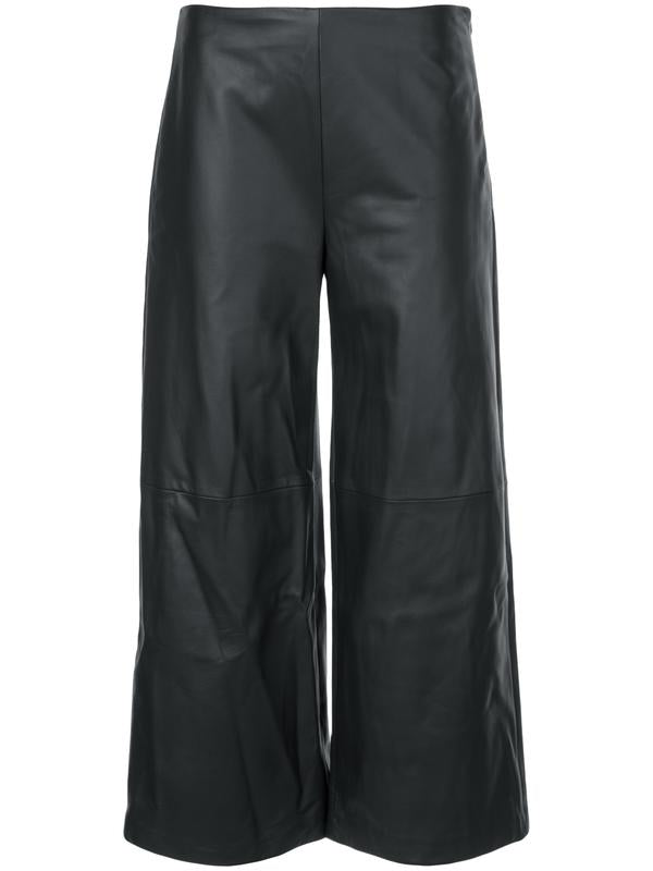 ADAM LIPPES - Leather Cropped Pant
