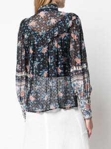 ULLA JOHNSON - Antoine Floral Dot Blouse