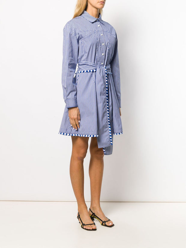 Iona Belted Stripe Shirt Dress
