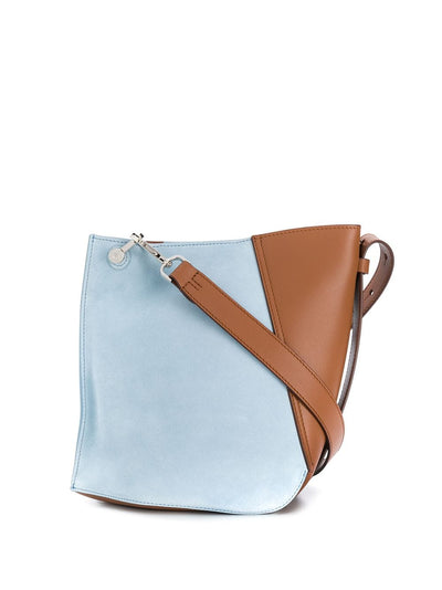 LANVIN - Small Two-Toned Hook Bag