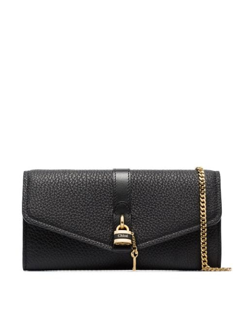Aby Chain Wallet Black