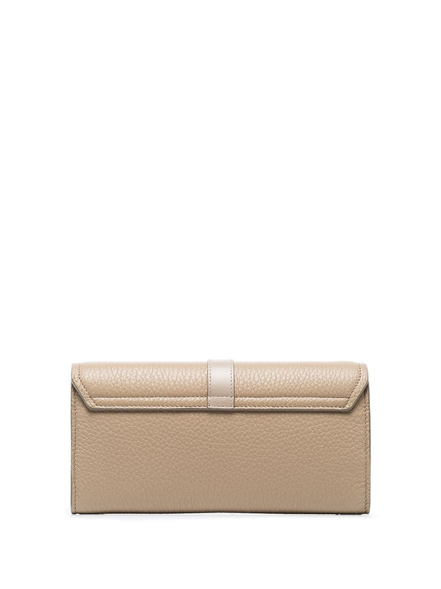 Aby Chain Wallet Motty Grey
