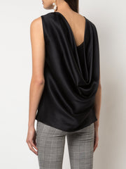 ADAM LIPPES - Cowl Back Drapped Shell