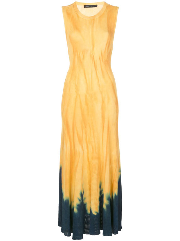 TIE DYE SL KNIT DRESS