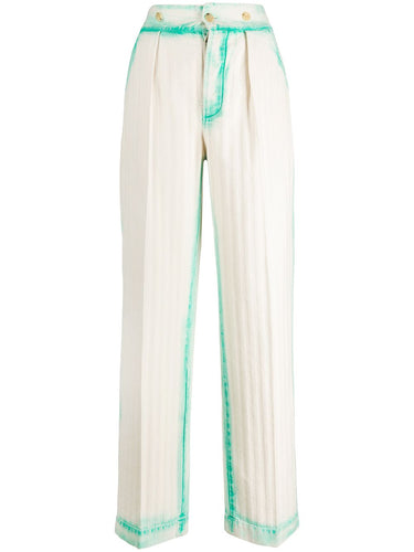 LANVIN - Sprayed Herringbone Pant