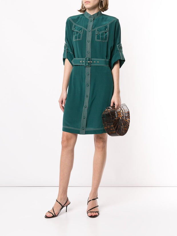 ZIMMERMANN - Silk Utility Midi Dress