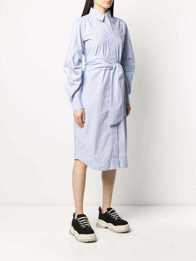 Brunna Blue Stripe Dress