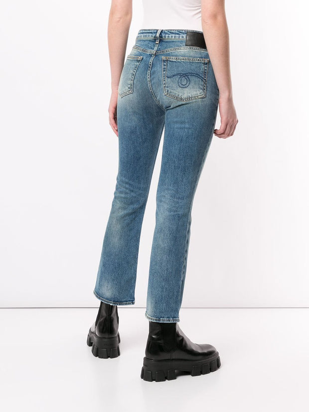 R13 Jasper Stretch Kick Fit Jean