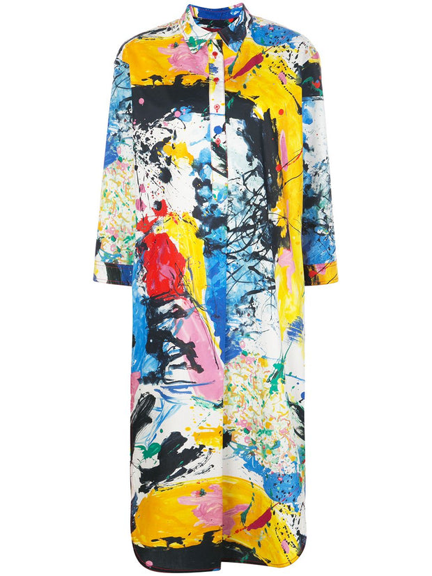 Ina Multi Printed Shirt Dress