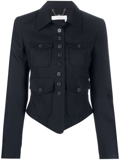 Cropped Pocket Jacket