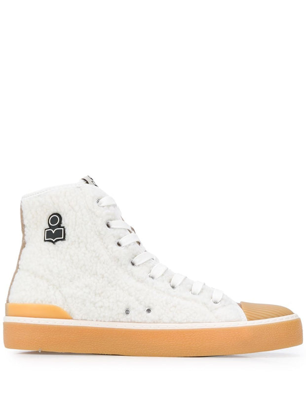 BENKEEN Shearling High Top Sneaker