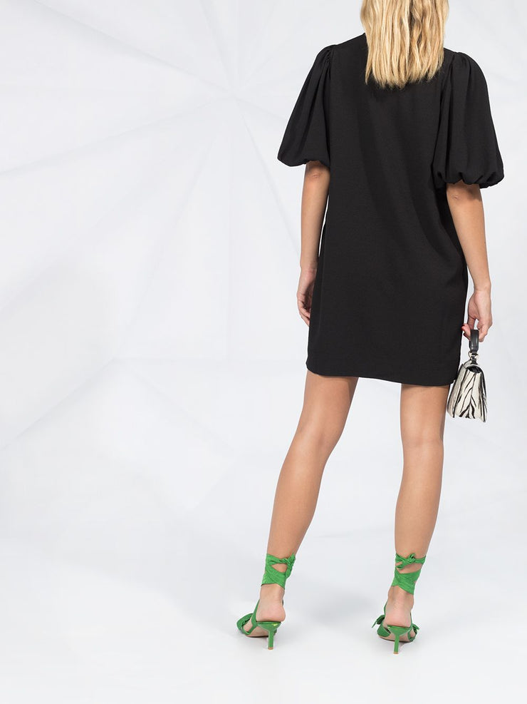 Heavy Crepe Mini Dress