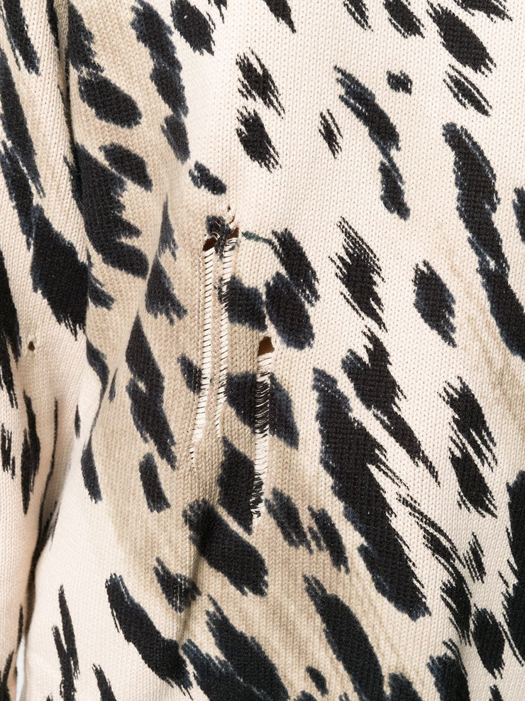 Cheetah Oversized Sweater
