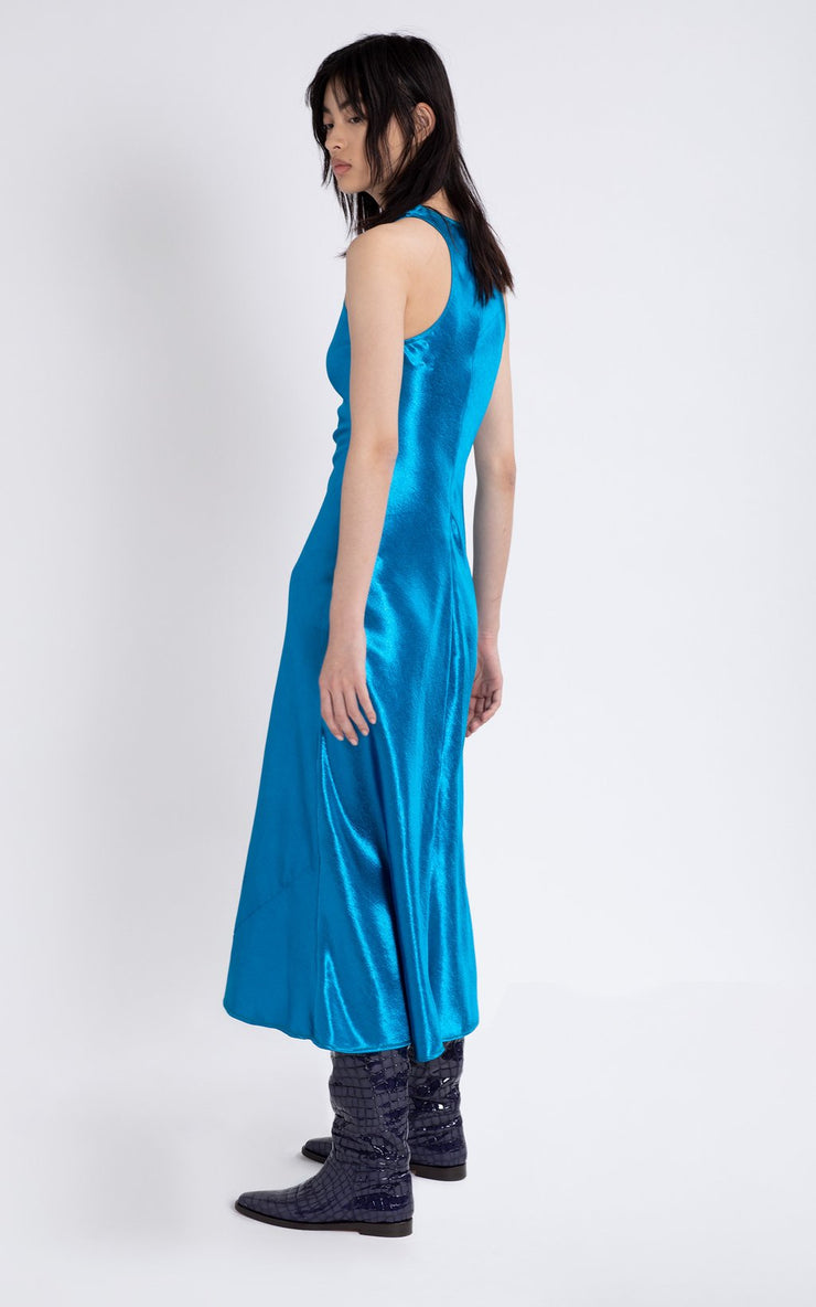 SIES MARJAN - Andy Glossy Satin Dress