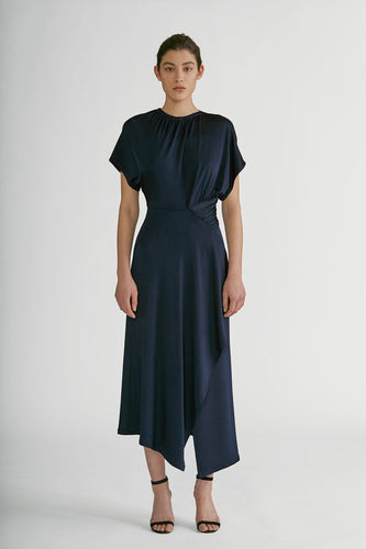 YIGAL AZROUEL - Asymmetric Matte Jersey Dress