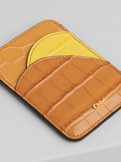 CHLOÉ - Walden Card Holder PS20 Joyful Yellow