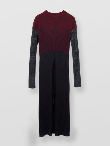 CHLOE - Long Sweater with Slit