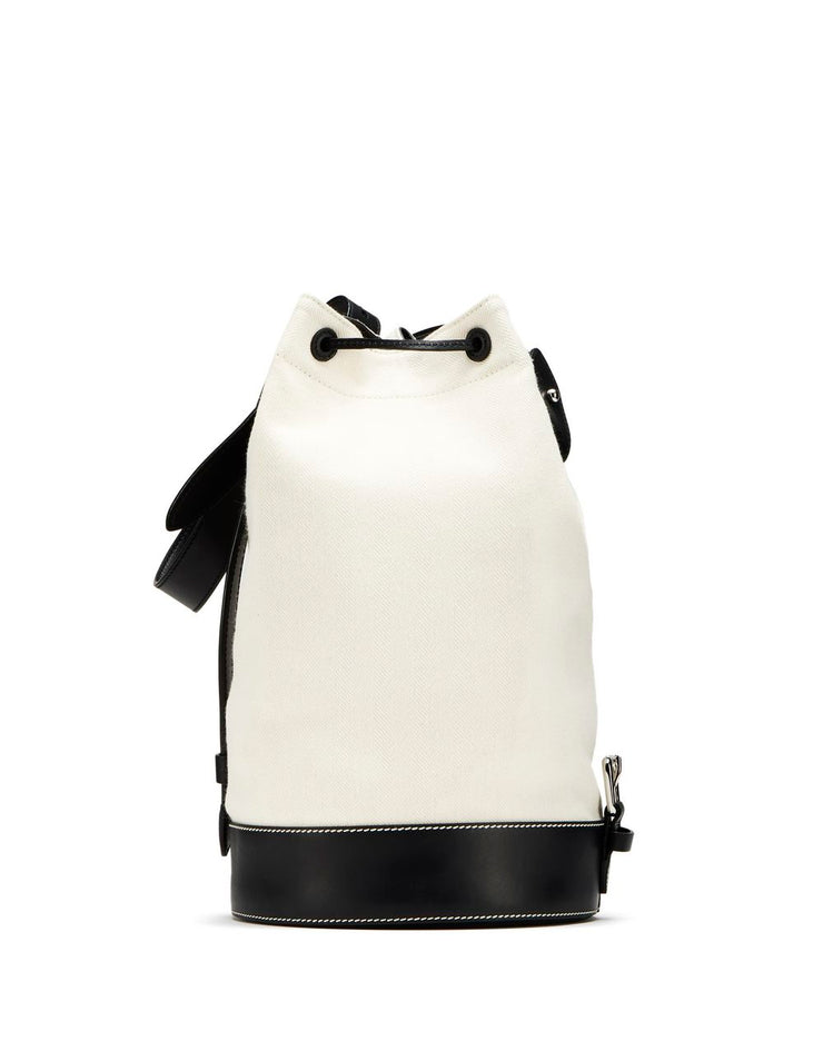 LANVIN - Small Dual-Material Neil Bag