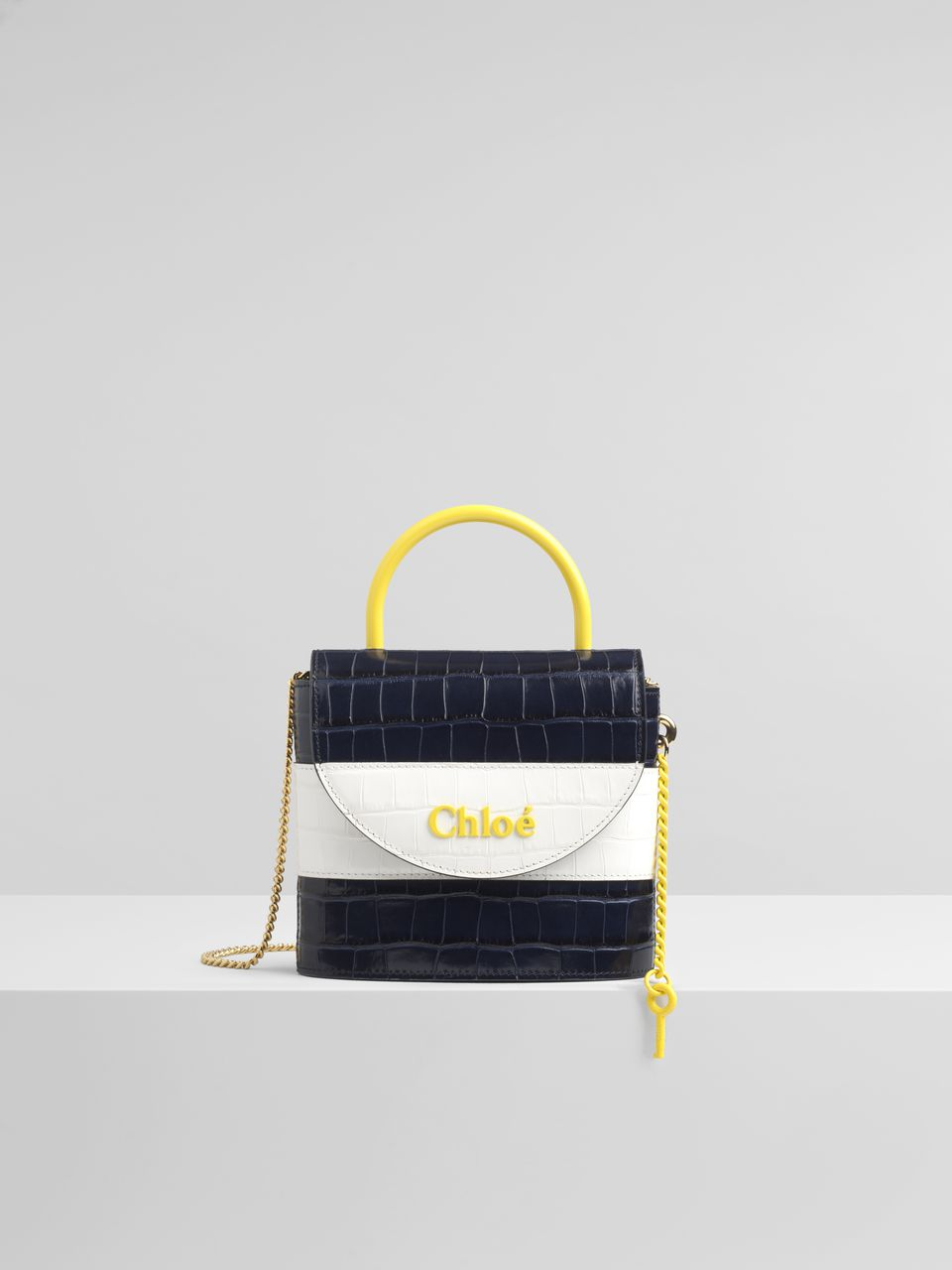 CHLOE - Small Aby Lock Chain Bag