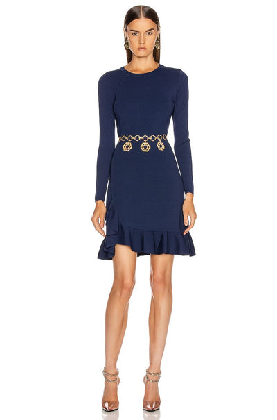 Mikey Long Sleeve Knit Dress