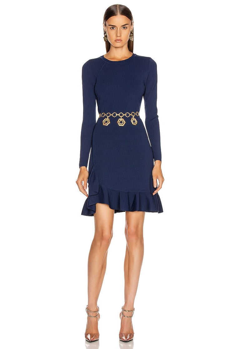 ALTUZARRA - Mikey Long Sleeve Knit Dress