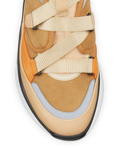 CHLOE - Sonnie Suede Shearling-Lined High-Top Sneakers
