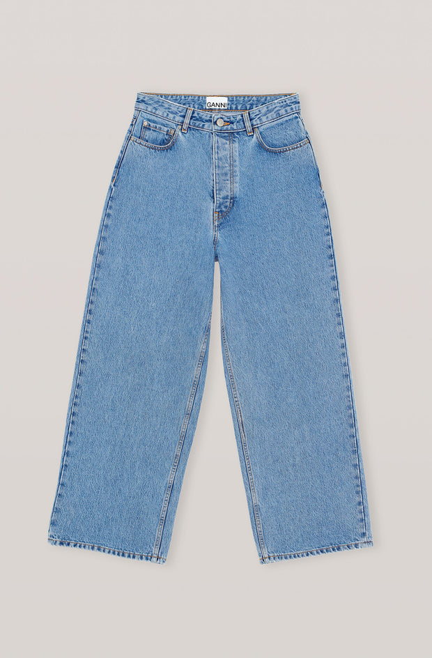 GANNI - Washed Indigo Denim