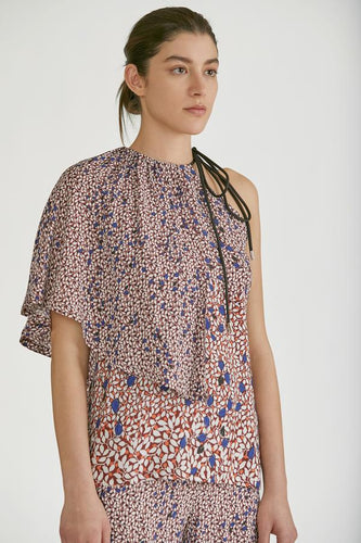 YIGAL AZROUEL - Falling Leaves Blouse