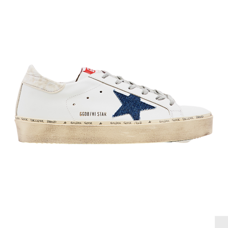 Hi Star Sneakers with Marble PVC Heel