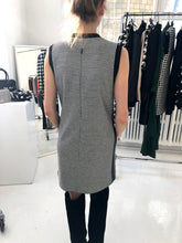BARBARA BUI - Herringbone Shift Dress with Pockets