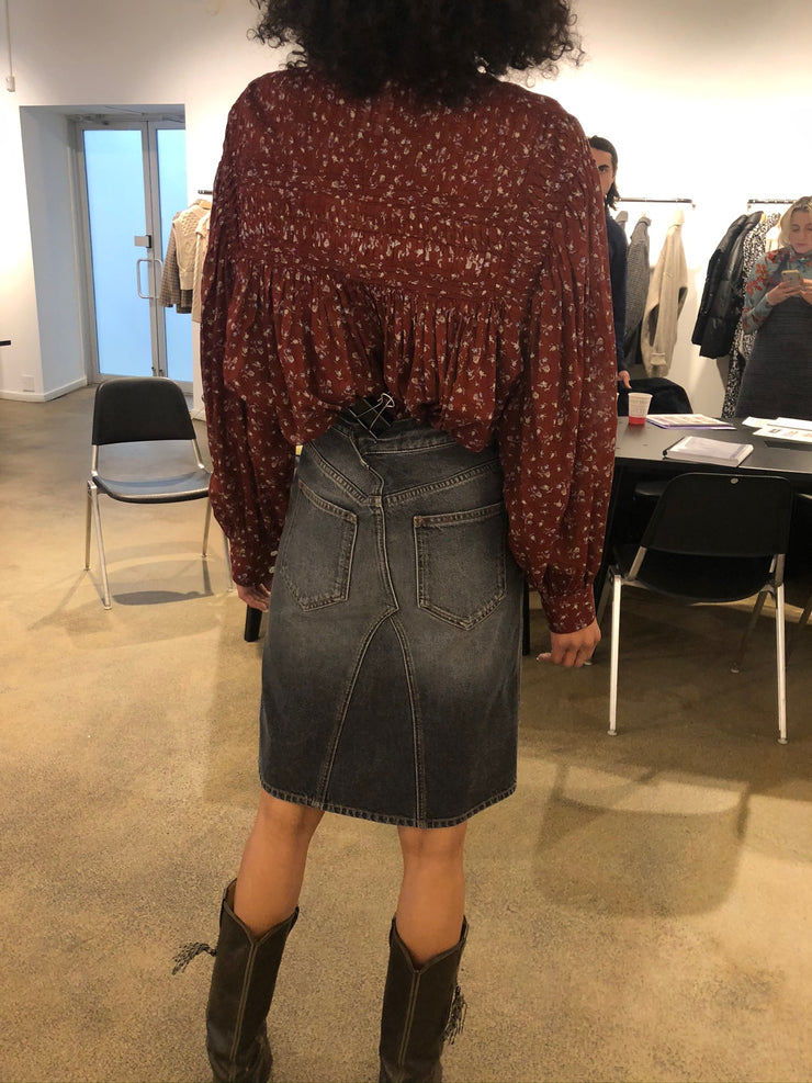 FIALI Denim Skirt