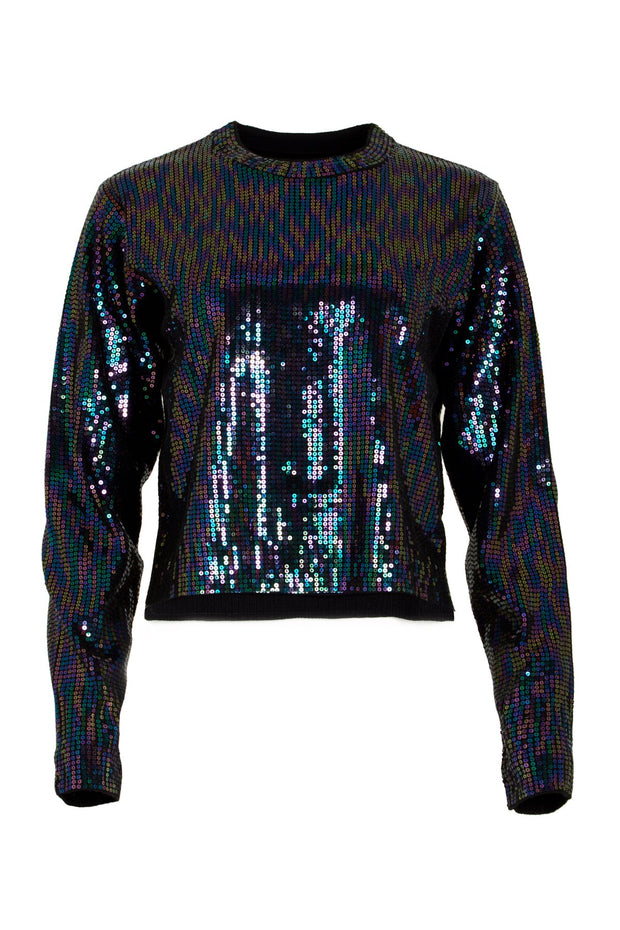 August Black Opal Sweater