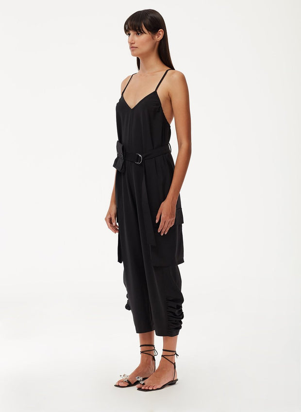 TIBI - Tropical Wool Jumpsuit
