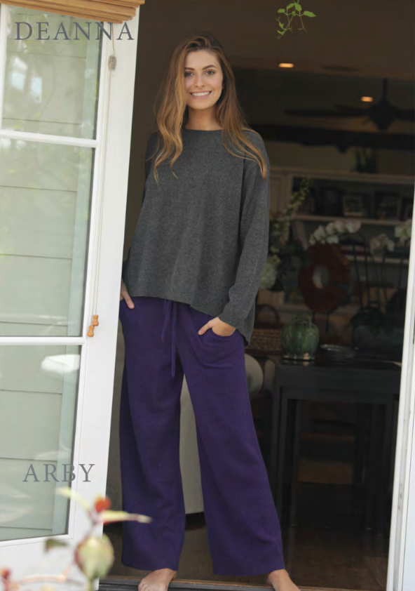 ABBY KNIT SWEATPANTS