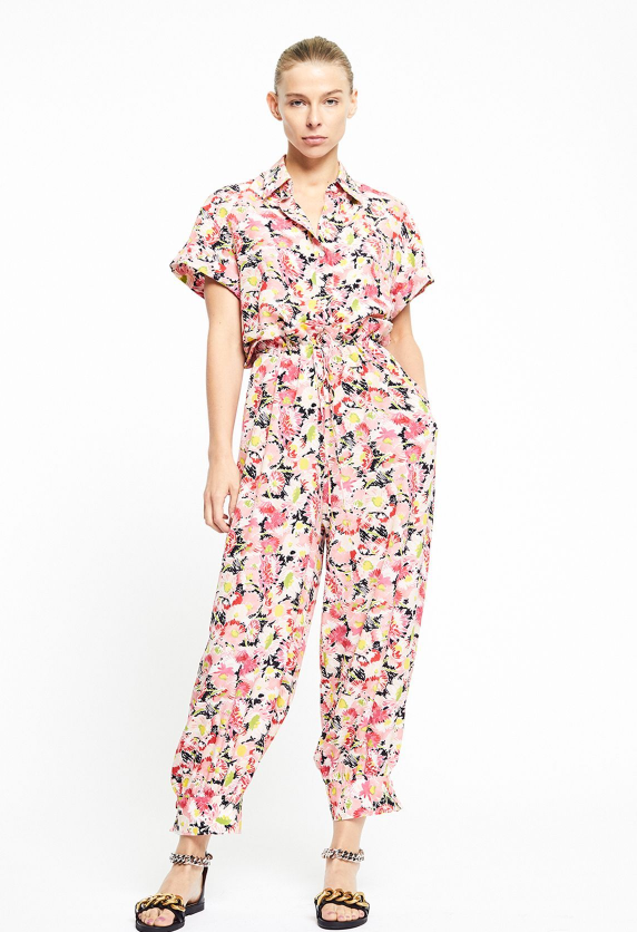 Johanna Floral All In One Jumpsuit