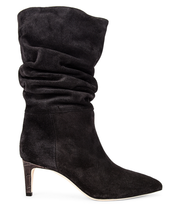 Velour Slouchy Boot