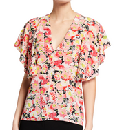 Mallory Floral Top