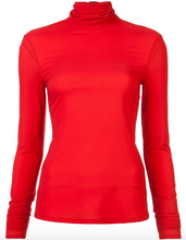 SALLY LAPOINTE - Lightweight Fitted Turtleneck