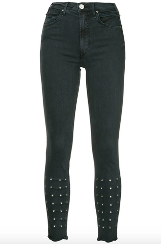 MCGUIRE - Newton Skinny with Eyelet Detail