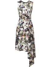 ADAM LIPPES - Floral Print Midi Dress